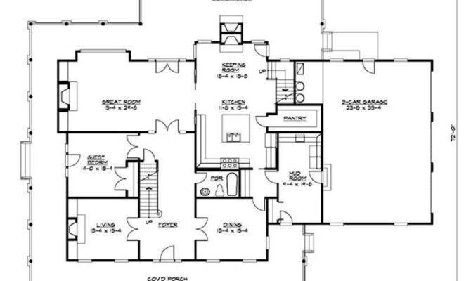 Classic Farmhouse Floor Plans Thefloors