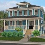Classic Foursquare House Plan American Ideas Pinterest