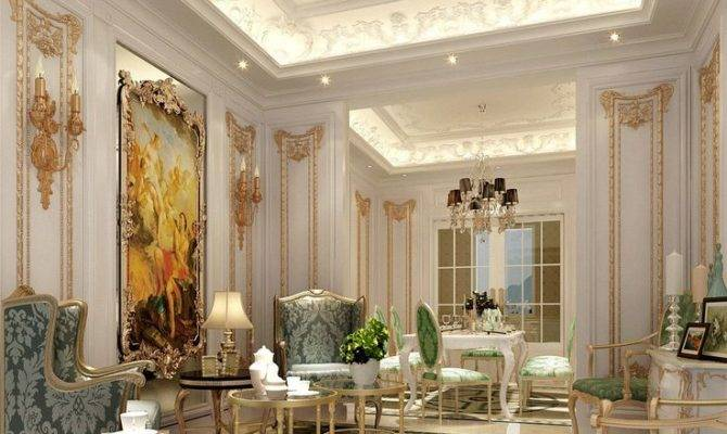 Classic French Luxury Interior Design House