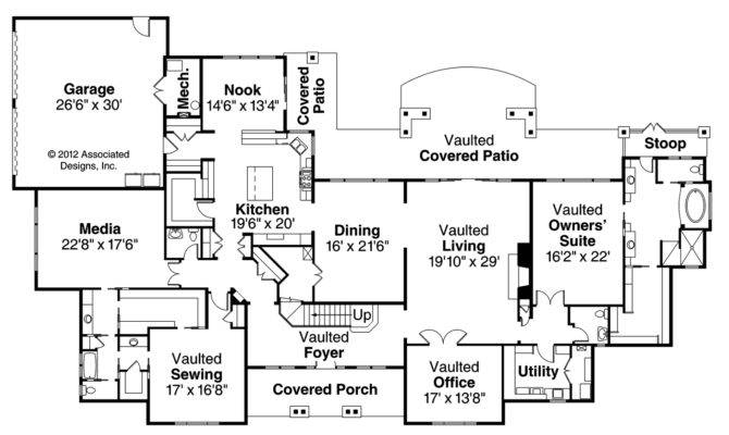 Classic House Plans Laurelwood Associated Designs