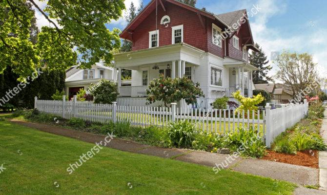 Classic Large Craftsman Old American House