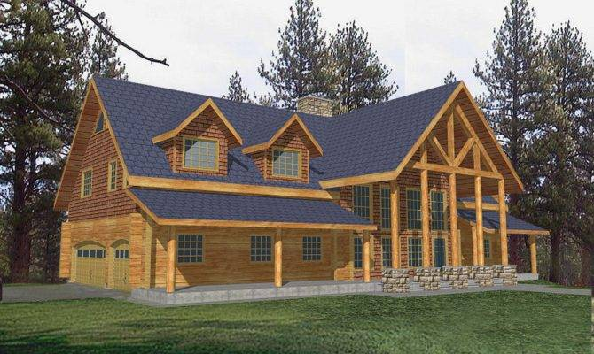 Classic Log Design Coast Mountain Homes