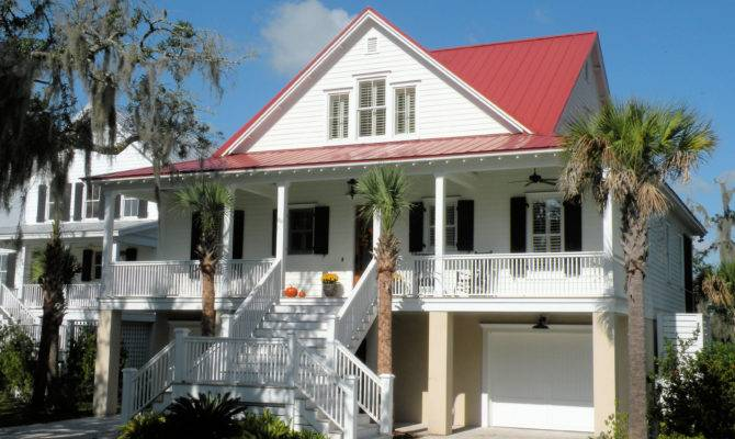 Classic Low Country Home Plan Architectural