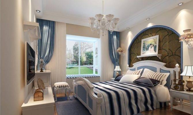 Classic Mediterranean Bedroom Interior Design