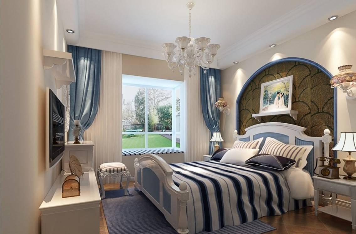 Classic Mediterranean Bedroom Interior Design House Plans 48761