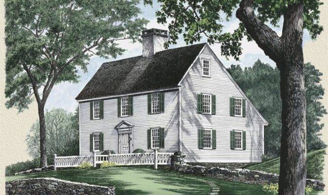 Classic New England Saltbox West Scituate Pinterest