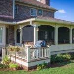 Classic Screened Porch Small Deck Nashville