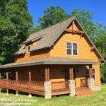 Classic Small Rustic Home Plan Architectural