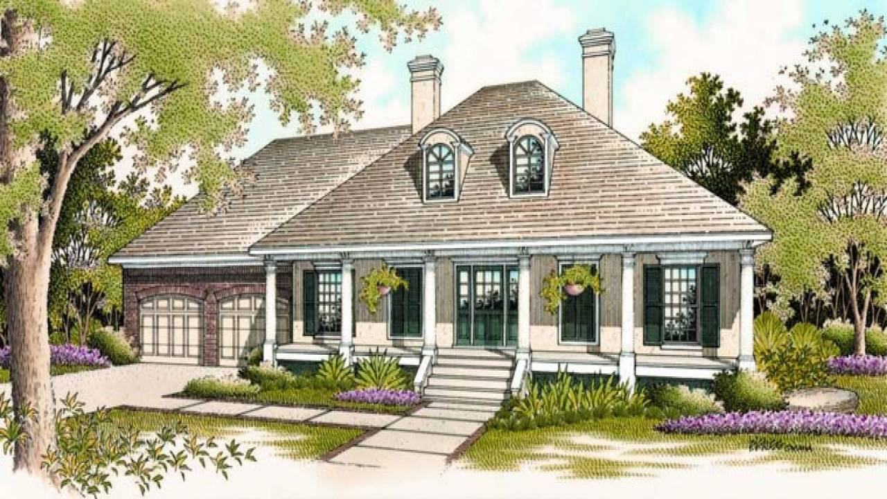 Clic Southern House Plans Old Home