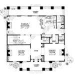 Classical Style House Plan Beds Baths