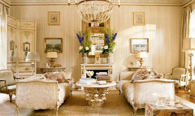 Classy Chic Living Room French Style Top Decor