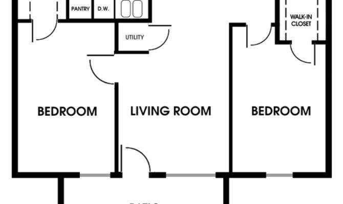 Clearview Apartments Mobile Alabama Bedroom Floor Plan