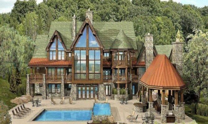 Clever Mountain Cabin Floor Plans Cape Atlantic Decor