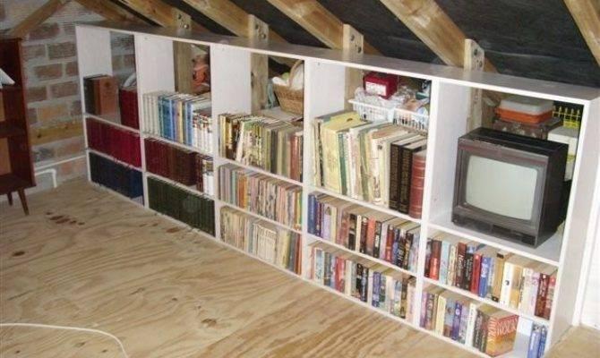 Clever Storage Ideas Your Attic Home Design Garden