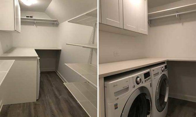 Closet Renovation Laundry Room Addition Pretty Neat Living