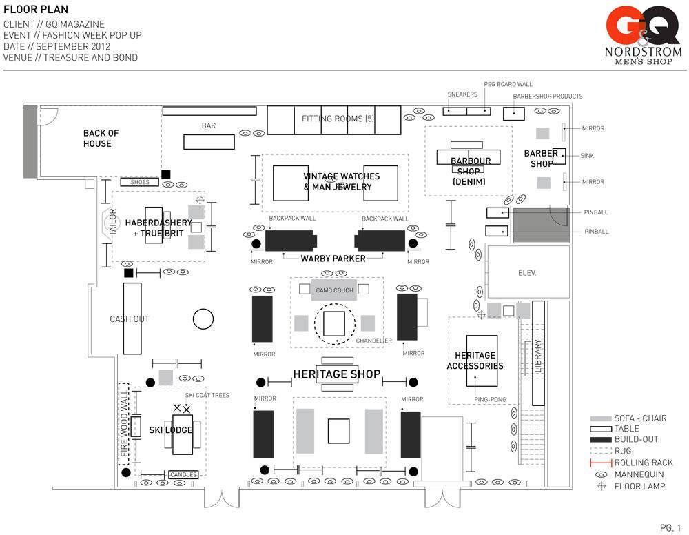 Clothing Store Floor Plan Design Peek House Plans 38707