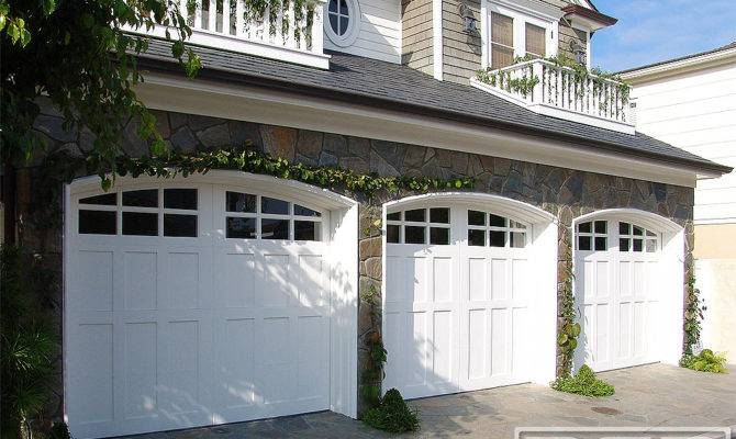 Coastal Cottage Custom Architectural Garage Door
