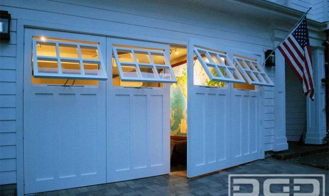 Coastal Custom Garage Door Conversion Carriage Doors