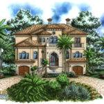 Coastal Home Plan Casa Bella House Weber Design Group