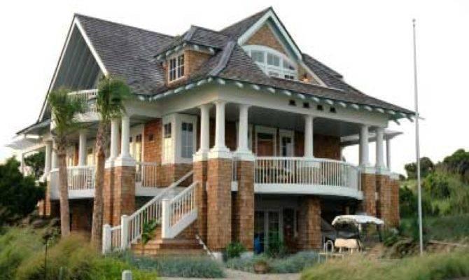 Coastal Home Plans Pilings Homes Floor