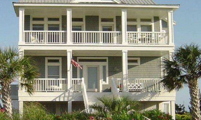 Coastal Home Plans Pilings