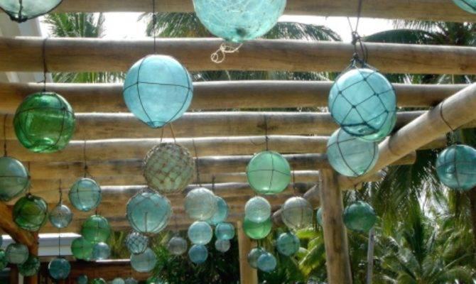 Coastal Home Ways Decorate Sea Glass Floats
