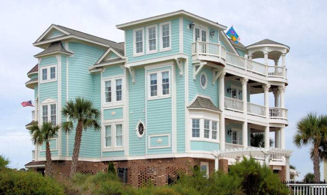 Coastal Homes Beach Style Exterior Wilmington