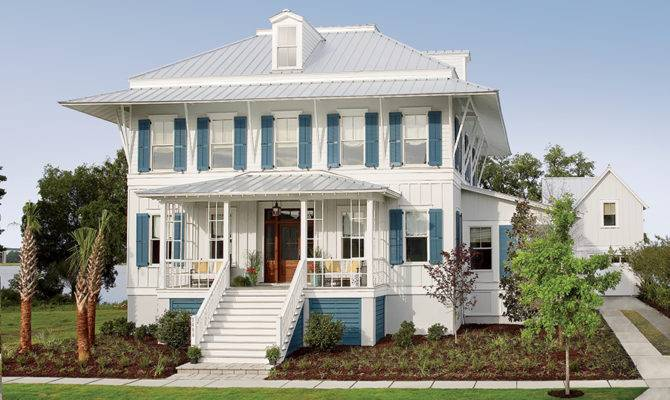 Coastal Living Showhouse Southern House Plans