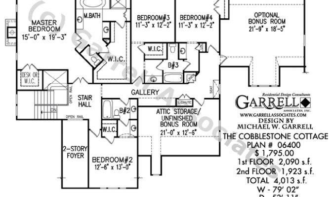 Cobblestone Cottage House Plan Estate Plans