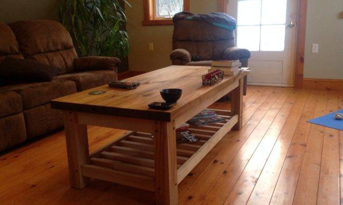 Coffee Table Canadian Home Workshop