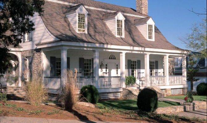 Colonial Cottage Country Farmhouse Plantation Traditional