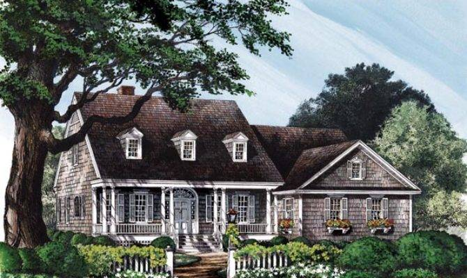 Colonial Cottage Country Southern House Plan