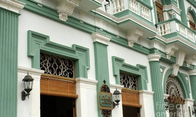 Colonial Facade Granada Nicaragua Photograph John Mitchell