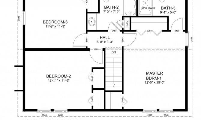 Colonial Home Floor Plans Traditional House