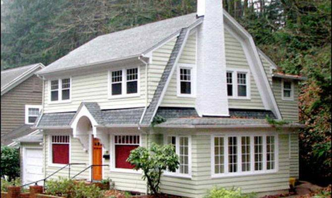 Colonial Homes Revival Dutch House
