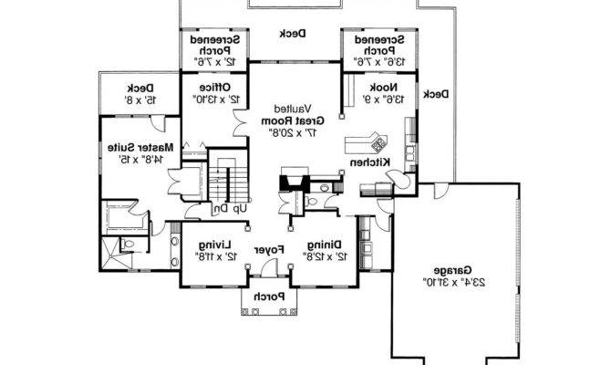 Colonial House Plan Cobleskill Floor