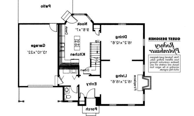 Colonial House Plan Perrysburg Floor