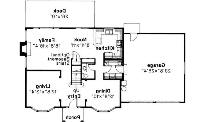 Colonial House Plan Westport Floor