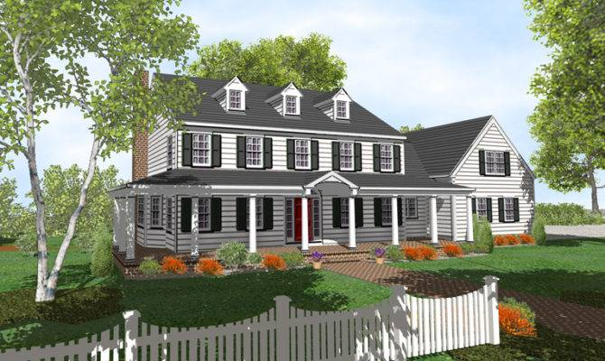 Colonial House Plans America Best