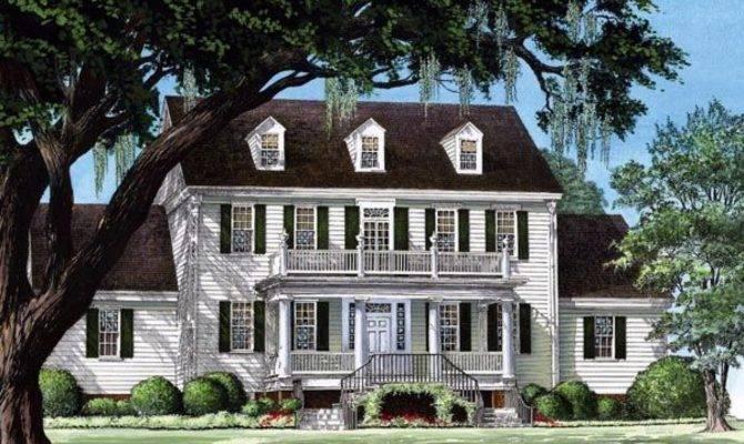 Colonial House Plans Designs Cottage