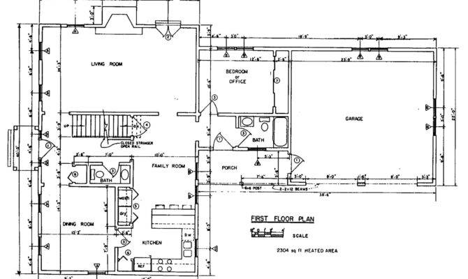 Colonial House Plans Floor