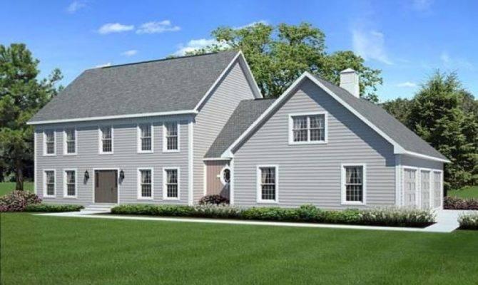 Colonial House Plans Porches