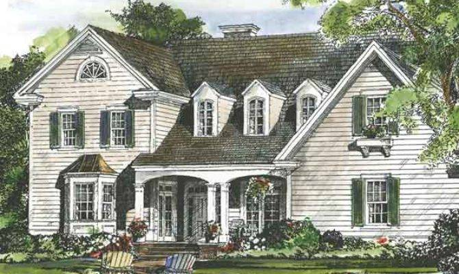 Colonial House Plans Southern Living