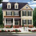 Colonial House Styles Two Story Plan