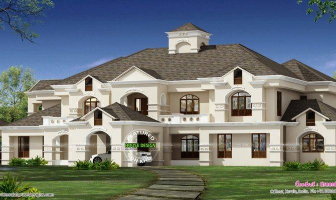 Colonial Luxury House Plans Traditional