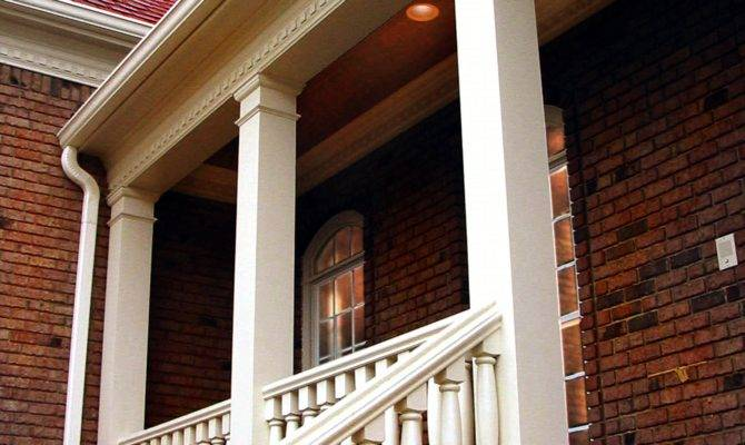 Colonial Porch Posts Wood