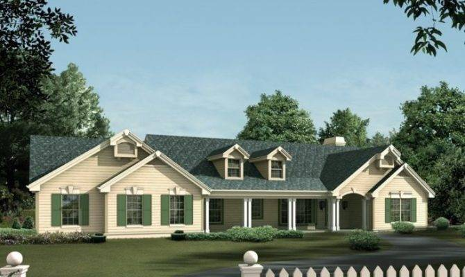 Colonial Ranch Home Plans Archives New Design