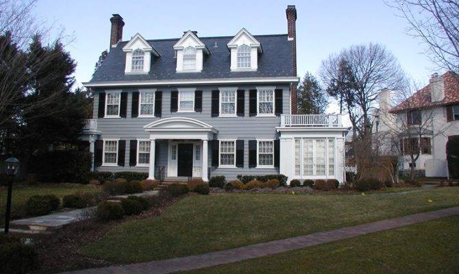 Colonial Revival Architecture Houses Facts History