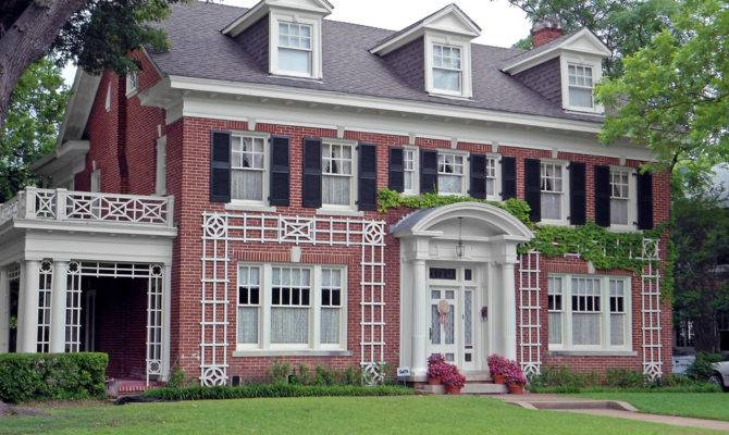 Colonial Revival Style House Swiss Avenue Flickr Sharing