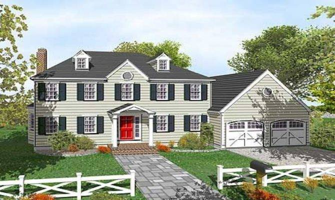 Colonial Story House Plans Floor